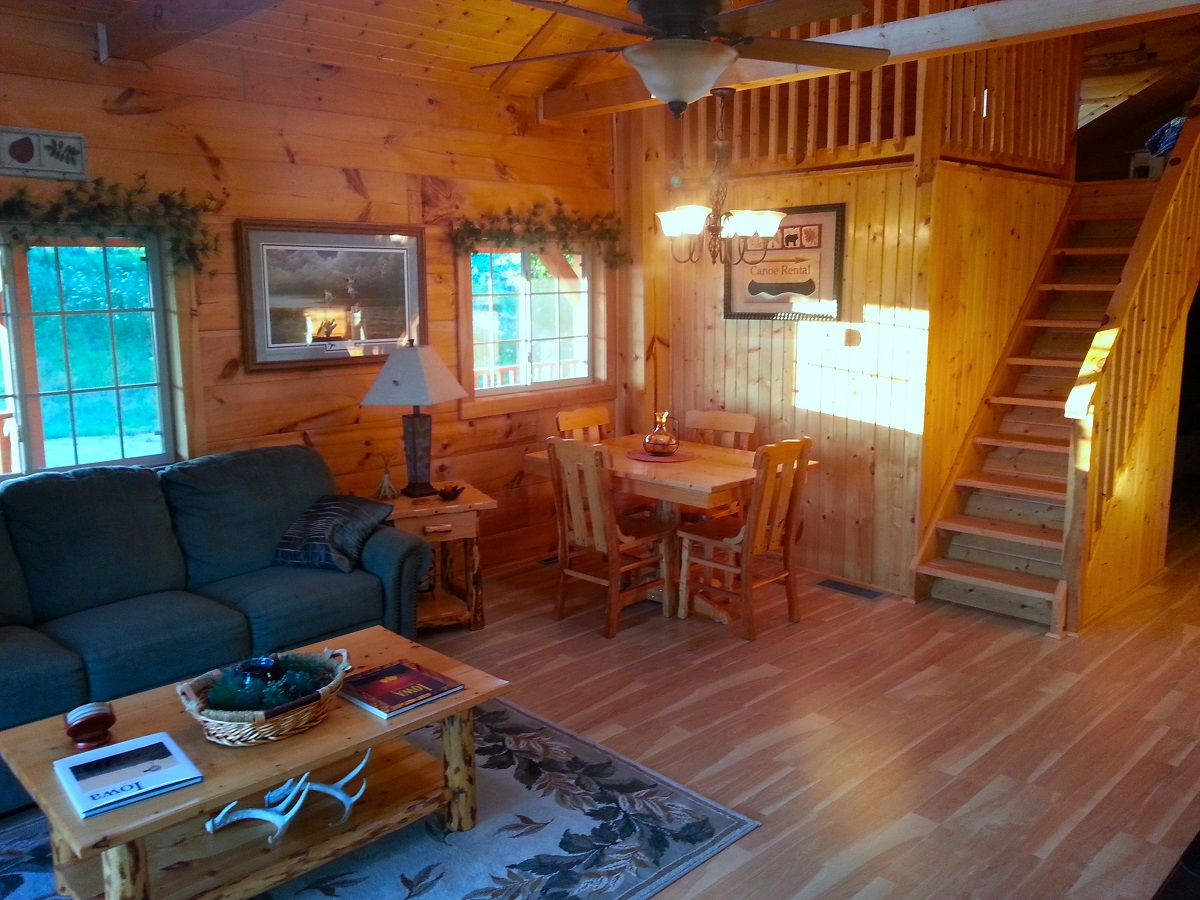 cabins near to memorial park cabin rent iowa in at pin state lehigh dolliver