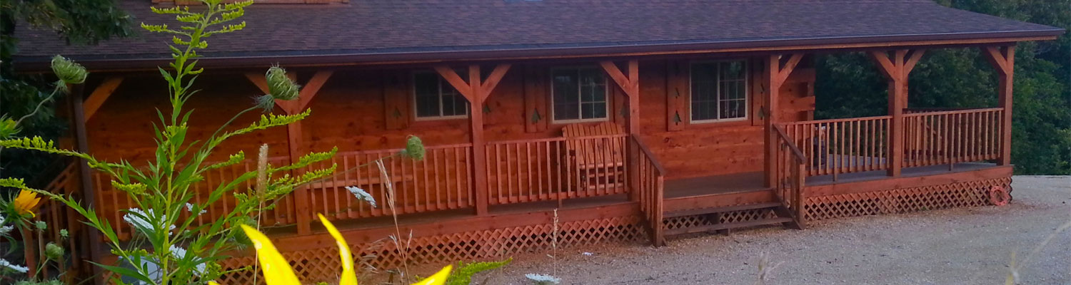 Iowa Cabin Rentals | Property Management | Pet Friendly